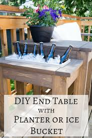 25 unique outdoor end tables ideas on pinterest outdoor tables