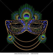 peacock masquerade masks masquerade mask peacock feather stock images royalty free images