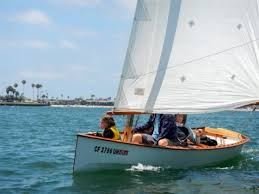 goat island skiff plan easy to build fast light sailboat