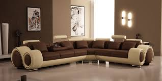 amazing open plan living room design with sectional neutral
