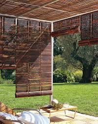 Blinds For Patio by Roll Up Venetian Blinds Create Adjustable Shade On A Sun Drenched