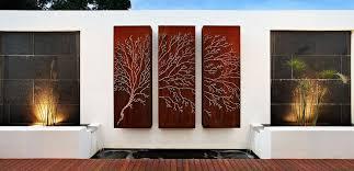 Garden Wall Decor Ideas 9 Pics Photos Outdoor Wall Murals Art Decoration Ideas Best