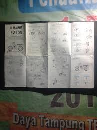 buku manual yamaha rxz boss