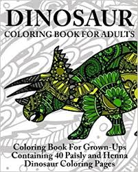 amazon dinosaur coloring book adults coloring book