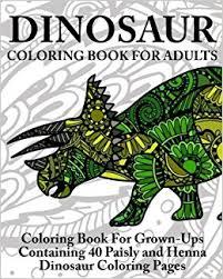amazon dinosaur coloring book adults coloring book
