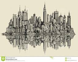 sketch of new york stock vector image of illustration 35721120