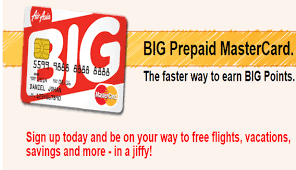 prepaid mastercards airasia airline big prepaid mastercard offers airlines airports