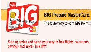 prepaid mastercard airasia airline big prepaid mastercard offers airlines airports