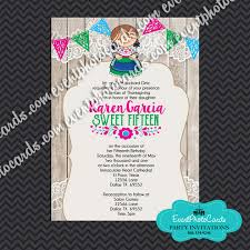 quinceanera party invitations invitations for a quinceanera u2013 gangcraft net
