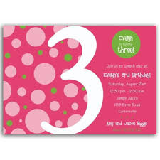 3rd birthday invitation wording badbrya com