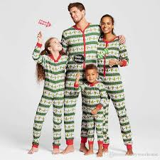 family pajamas family matching clothes matching