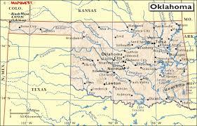 Oklahoma rivers images Hrw world atlas oklahoma gif