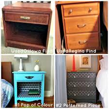 used ca used furniture diy bedside tables used ca