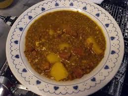 cuisine espagnole recette recette de lentilles espagnoles lentejas con chorizo