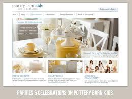 baby shower website baby shower for pottery barn kids the tomkat studio