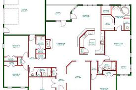 ranch house floor plans open plan fascinating large ranch house plans contemporary best idea home