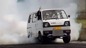 car junkyard sydney wtofit crazy rotary turbo suzuki van at burnout mania 2 sydney