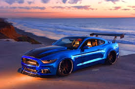 sky blue mustang stage 3 performance 2015 s550 ford mustang
