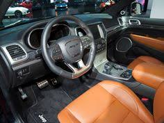 Grand Cherokee Srt Interior Revealed 2014 Jeep Grand Cherokee Srt Detroit 2013 Kelley