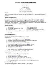 Bilingual In Resume Secretary Resume Examples 496719 Secretary Resume Sample