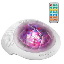 Rotating Night Light Projector Soaiy Night Lighting Lamp Led Ocean Wave Light Aurora Projector
