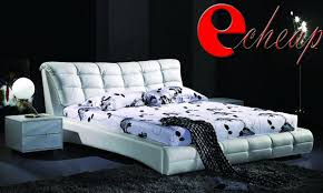 leather bed queen king size bedroom furniture set special 649