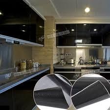 Kitchen Furniture Uk Thick White Black Self Adhesive Vinyl Fablon Kitchen Unit