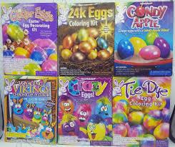 easter egg coloring kits rj rabbit decorating kit easter egg coloring kit food safe dye you