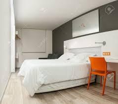 Empty White Bedroom Beautiful Stylish Interior In Modern Style Elegant Design Of