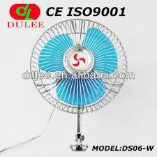 plug in car fan 12v car fan 6 inch with cigarette plug optional global sources