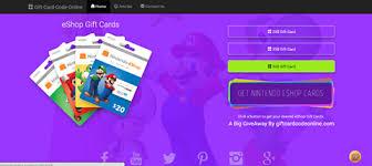 eshop gift cards eshop free gift card codes generator 2018 home