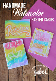 handmade watercolor cards easy handmade easter cards with watercolors