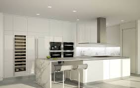 Rectangular Kitchen Ideas 28 Modern White Kitchen Design Ideas Photos Designing Idea