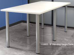 White Conference Table Standing Height Conference Tables In White Mocha Maple Black