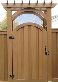 10 foot wide arbor with double gate mom u0026 dad pergola