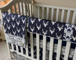 Baby Deer Crib Bedding Deer Crib Bedding Etsy