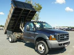 Used Dump Truck Beds Used F450 Maryland Dump Truck Diesel V8 Automatic Landscape Dump