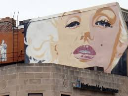 mapping 61 street murals in northwest washington d c 1 2602 connecticut ave a tribute to marilyn monroe