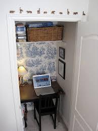 Closet Office Desk Lovable Rattan Basket On White Floating Shelf And Black Wood