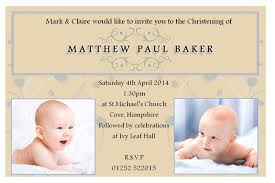 Invitation Card Example Samples Of Baptism Invitations Dhavalthakur Com