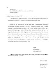 noc sample letter format no objection format packing template