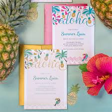 luau party invitations lia griffith