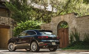 porsche macan 2016 interior 2017 porsche macan in depth model review car and driver