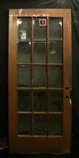leaded glass french doors 36x83 antique oak exterior entry french door 15