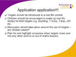 1 introducing high value targets 2 curricular targets should be