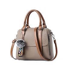 sacoche de bureau rétro womens sac à sac à bandoulière épaule pu cuir
