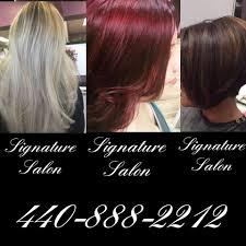 signature hair salon home facebook