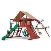 Wooden Backyard Playsets Wood Swing Sets