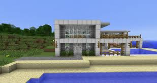 minecraft beach house modern beach side house minecraft project