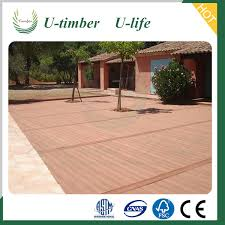 eco friendly wood plastic composite landscape timbers for outside